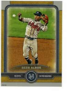 Ozzie-Albies-2019-Topps-Museum-5x7-Gold-5-10-Braves