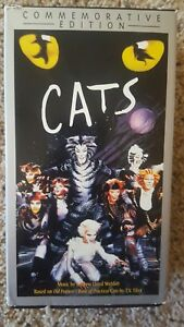 Details about Vintage CATS Musical Commemorative Edition 2 VHS Tapes Box Set