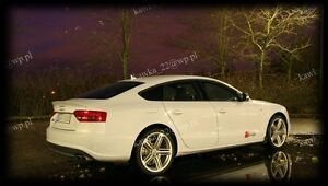 Audi A5 S5 SPORTBACK 2007-2016 8T 5-door S-Line Rear Trunk Boot Spoiler [PRIMED]