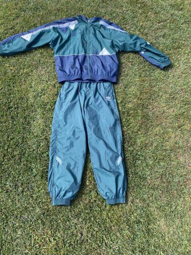 Vintage Umbro Track Suit