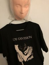Ian Curtis Photo Pose Heather Navy T-shirt Official BRAND NEW Joy Division