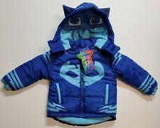 NWT PJ Masks Gekko Boy Girl Puffer Coat Hoodie Costume