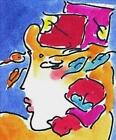 Stunning Profile Series I, Ltd Ed Lithograph, Peter Max - SIGNED with COA