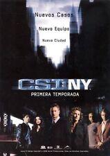 CSI: New York Temporada Uno Completa DVD Set! New! PAL! Season 1!