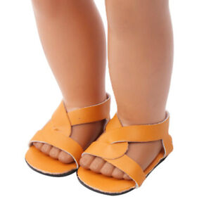1 Pair doll shoes doll sandals for 18 inch 43cm dolls acces Christmas giftES
