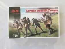 ICM 35291 1//35 German Assault Troops 1917-18