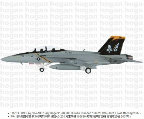 Hogan Wings 6207, F/A-18F, US Navy, VFA-103 Jolly Rogers AG200 Bureau No166620