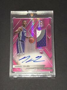 2017-18-Panini-Spectra-Harry-Giles-RC-Neon-Pink-3-Color-Rookie-Auto-Patch-25