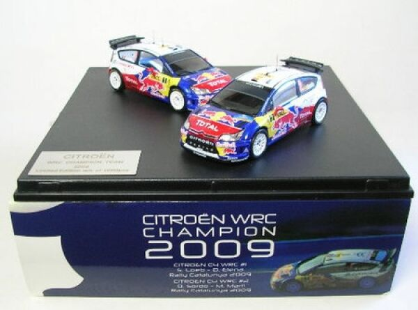 Citroën  C4 WRC No. 1 et No. 2 - Jeu Rally Catalunya 2009  belle