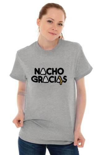 Nacho Gracias Funny Foodie Guacamole Gift Short Sleeve T-Shirt Tees Tshirts