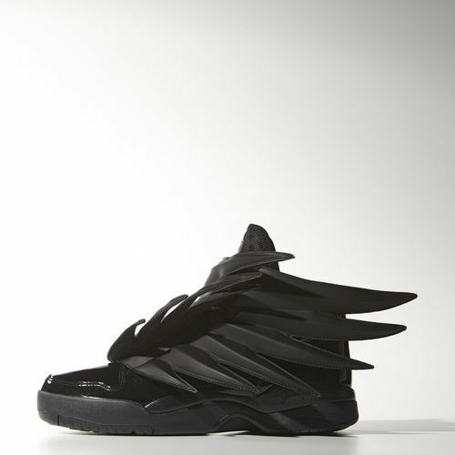 Adidas Men's Jeremy Scott 3.0 Wings DARK KNIGHT Shoes Size 5.5 us D66468