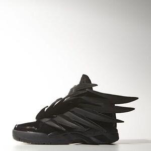 Details about Adidas Men's Jeremy Scott 3.0 Wings DARK KNIGHT Shoes Size 5.5 us D66468