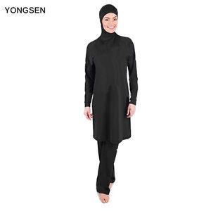 Summer Modesty Muslim Swimwear Swimsuit Full Cover Islamic Beachwear Burkini