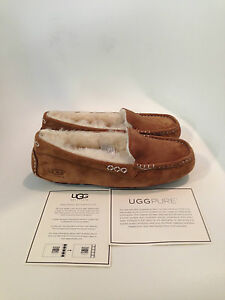 UGG-Ansley-Chestnut-Moccasin-Slipper-Women-039-s-US-sizes-5-12-NEW