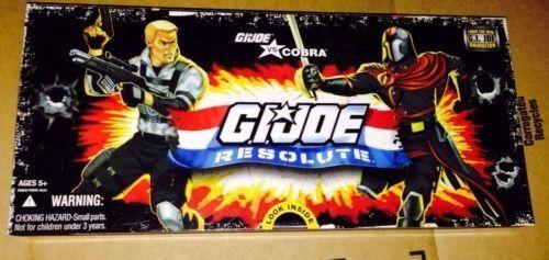 Cobra RESOLUTE 3 3//4 inch Action Figure Collector 5 Pack Hasbro 78858 GI JOE vs