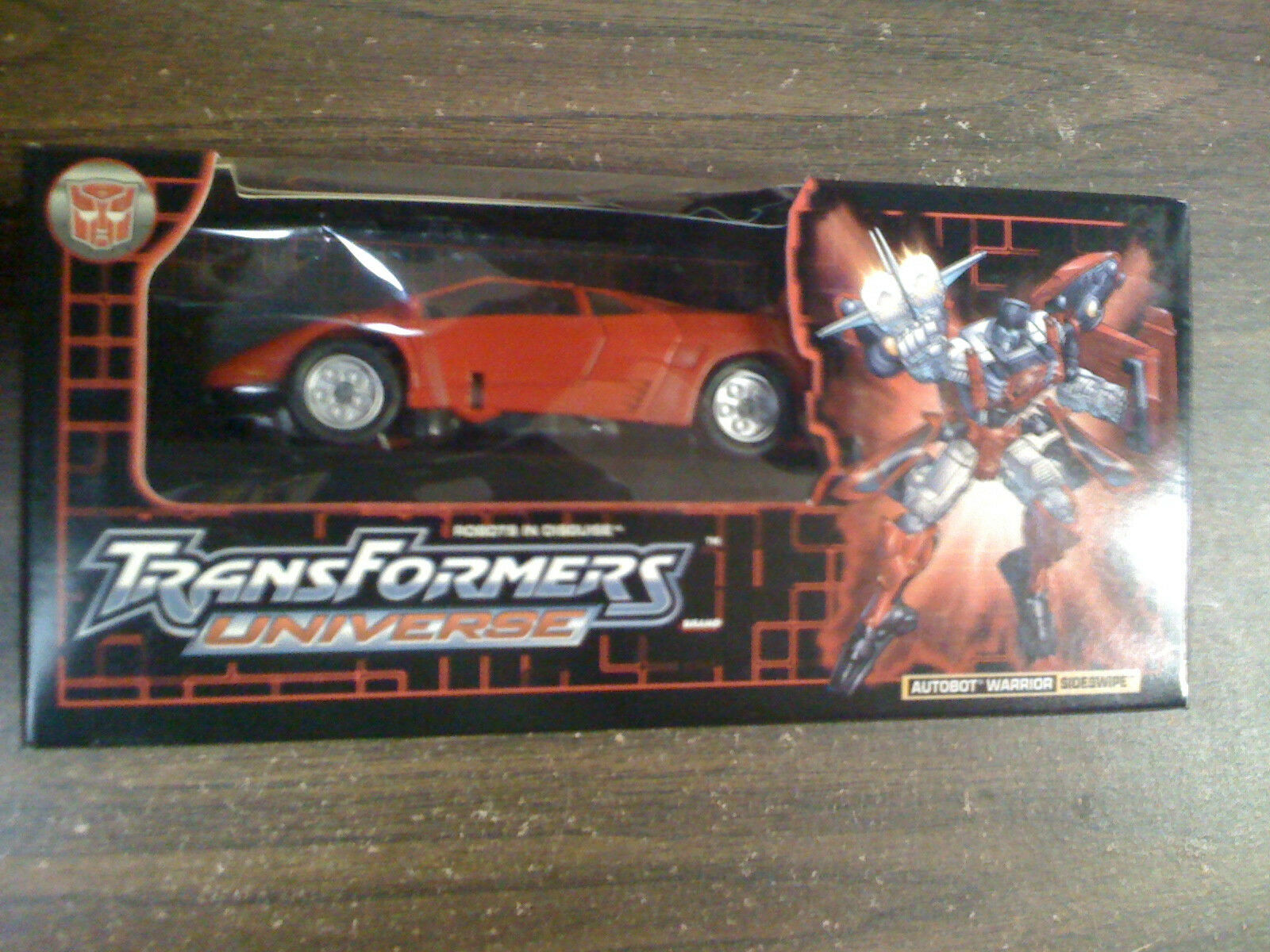 Transformers Universe Sideswipe Botcon EX   NEW FREE SHIP US