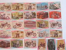 1970'S LOT OF (26) STREET CHOPPER HOT BIKE TRADING CARDS - NICE - LOT 3 TUB CB