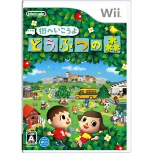 Details about Used Wii Animal Crossing: City Folk Japan Import