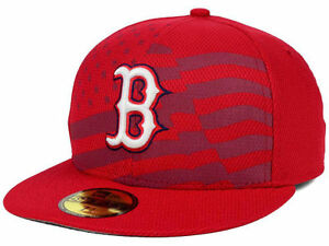 100% genuine running shoes the sale of shoes Official MLB 2015 Boston Red Sox July 4th Stars Stripes New Era ...