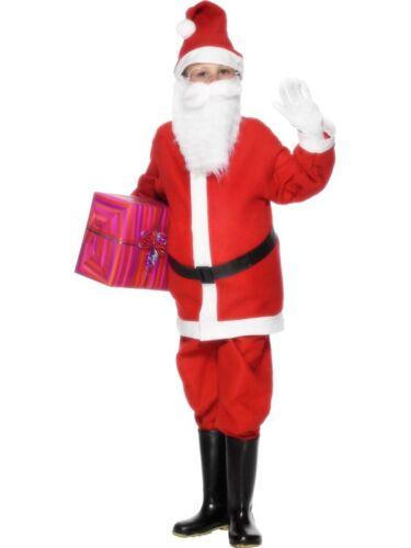 Costumes de Noël Santa boy