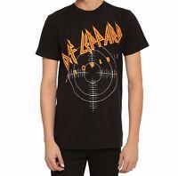 Def Leppard Pyromania Logo T-shirt S-3xl 100% Authentic & Official