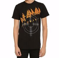 Def Leppard Pyromania Logo T-shirt S-3xl 100% Authentic & Official