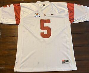 Rare Vintage Nike USC Trojans Reggie Bush Rose Bowl Game Football ...