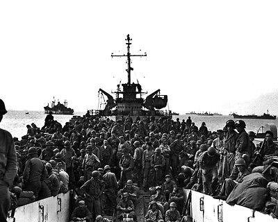 American Forces Land in Inchon Harbor 1950 New 8x10 Korean War Conflict Photo