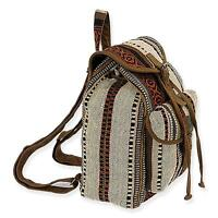 Sun N Sand Catori Backpack sandsation - 22x6x19 Cotton Blend Fabric -