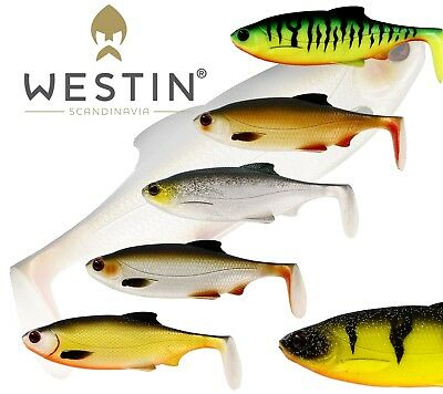 Westin Ricky the Roach Shadtail Bulk 14cm 42g 2pcs Soft bait Perch Pike NEW 2019