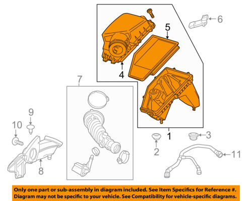 Chevrolet GM OEM 16-18 Malibu ENGINE-Air Cleaner Assembly 23430315