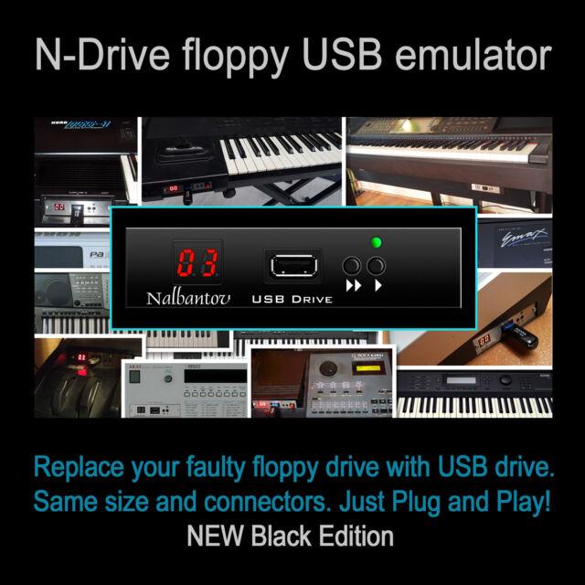 Nalbantov USB Floppy Disk Drive Emulator for E-mu Emax II or rack +OS Emu  Emax 2
