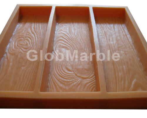 Stepping Wood Grain Stone Forms WS 5010 Concrete Mold