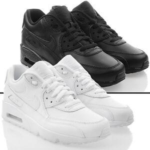 Neu Schuhe NIKE AIR MAX 90 LTR GS Damen Sneaker Turnschuhe Leder ...
