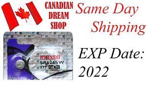 1 pc MAXELL 377 376 SR626SW SR626 LR626 AG4 177 LR66 SILVER OXIDE BATTERY
