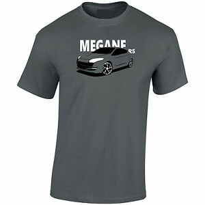 Megane RS Renault Inspired Mens T-Shirt Gift For Anyone!   eBay 4b36bd0140d3