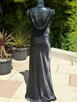 RANDI MAY LOW BACK DRESS 12 WEDDING PROM BALL CRUISE