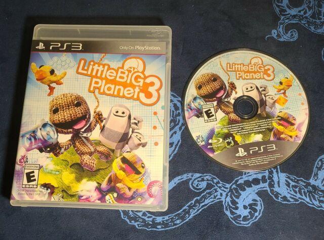 LittleBigPlanet 3 (Sony PlayStation 3, 2014) Tested - No Manuel