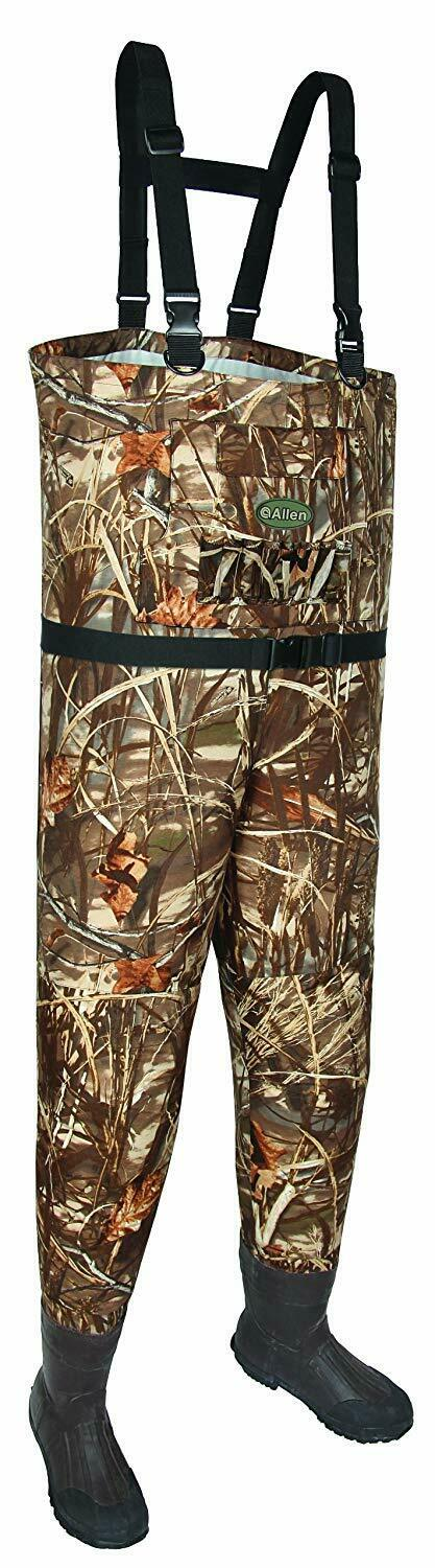 Allen Blue Bill Camo Breathable Wader Size 7 12877 Realtree Max-4 Thinsulate