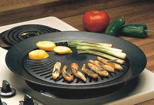 Smokeless Indoor Stove Top Grill - Healthy Kitchen Stovetop Indoor ...