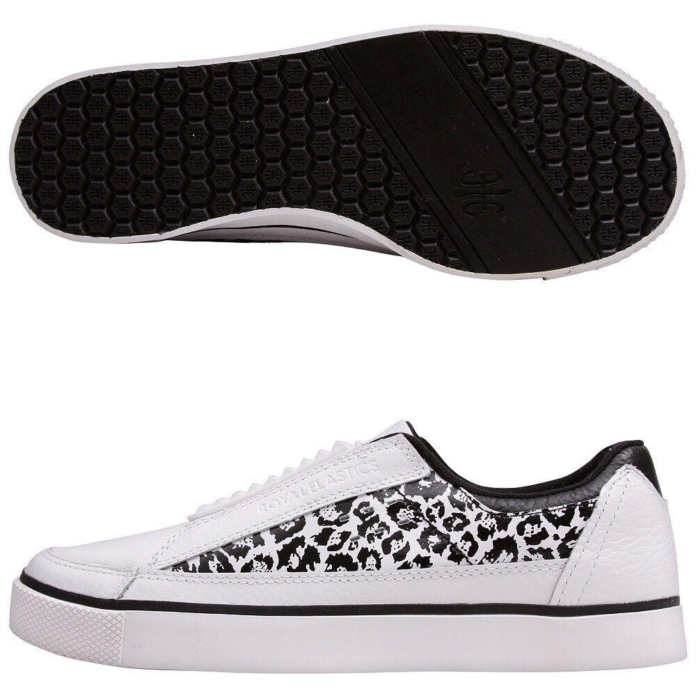Royal Elastics King Studs  white Leather sneaker US 13 SUPER NICE !!