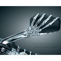 Skull Hands Rearview Mirrors For Suzuki Boulevard Intruder Marauder Motorcycle