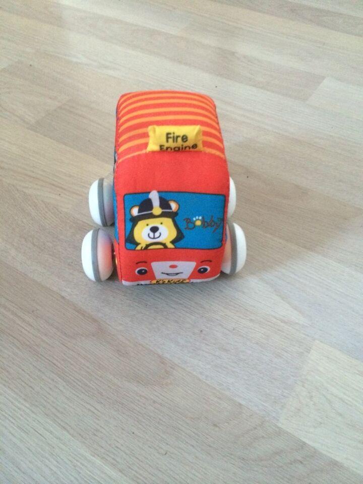 Blød bil, ???, aktivitetslegetøj