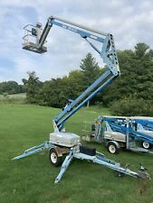 Genie Tmz3419 34 Towable Tow Behind Electric Articulating Boom Man Lift