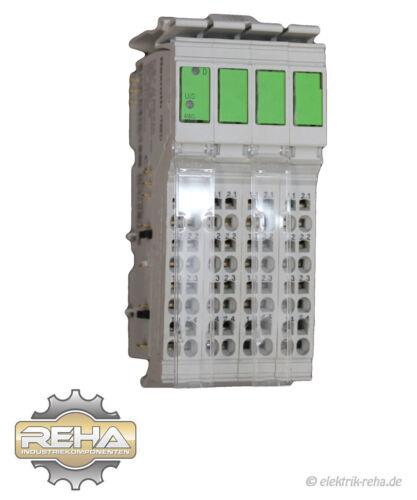 4x Rexroth R-IB IL AI 8//IS-PAC Inline Terminal
