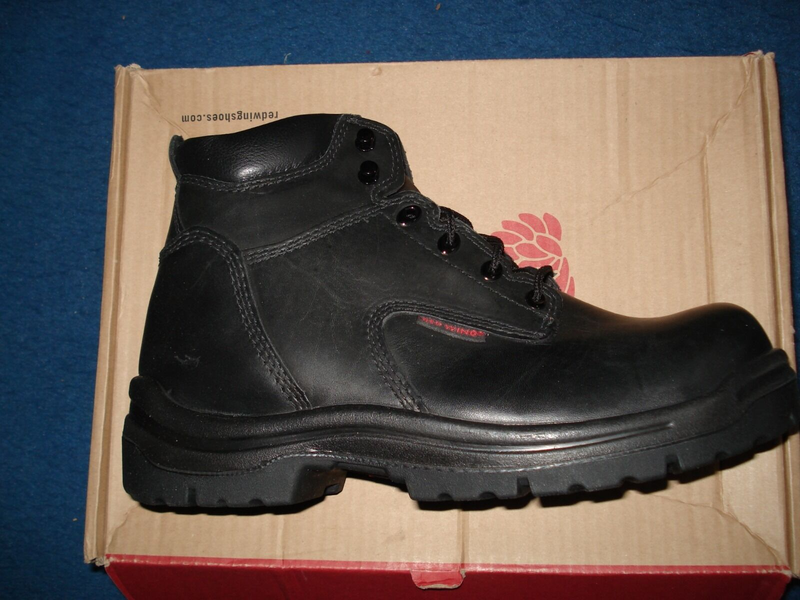 Rouge Wing aucun Metalic Toe Chaussures 6  Taille 09.0E2 UK.