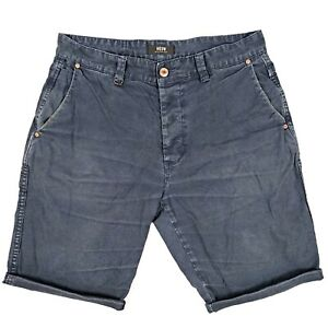 NEUW-Ray-Tapered-Men-039-s-Shorts-Size-32-Blue-Distressed-Denim-Australian-Designer