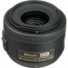 New Nikon Nikkor 35mm F/1.8G AS RF DX G SWM AF-S M/A Lens Sale f/ D500 D810 D750