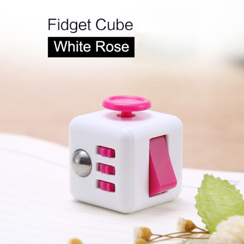 Adult Kids Anxiety Relief Figit Fidget Cube Fiddle Toys Dice Stress Cubes Gift