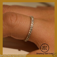 0.33 Carat Man-made Diamonds wedding Band in 14k White Gold ONLY 85! SALE NOW!